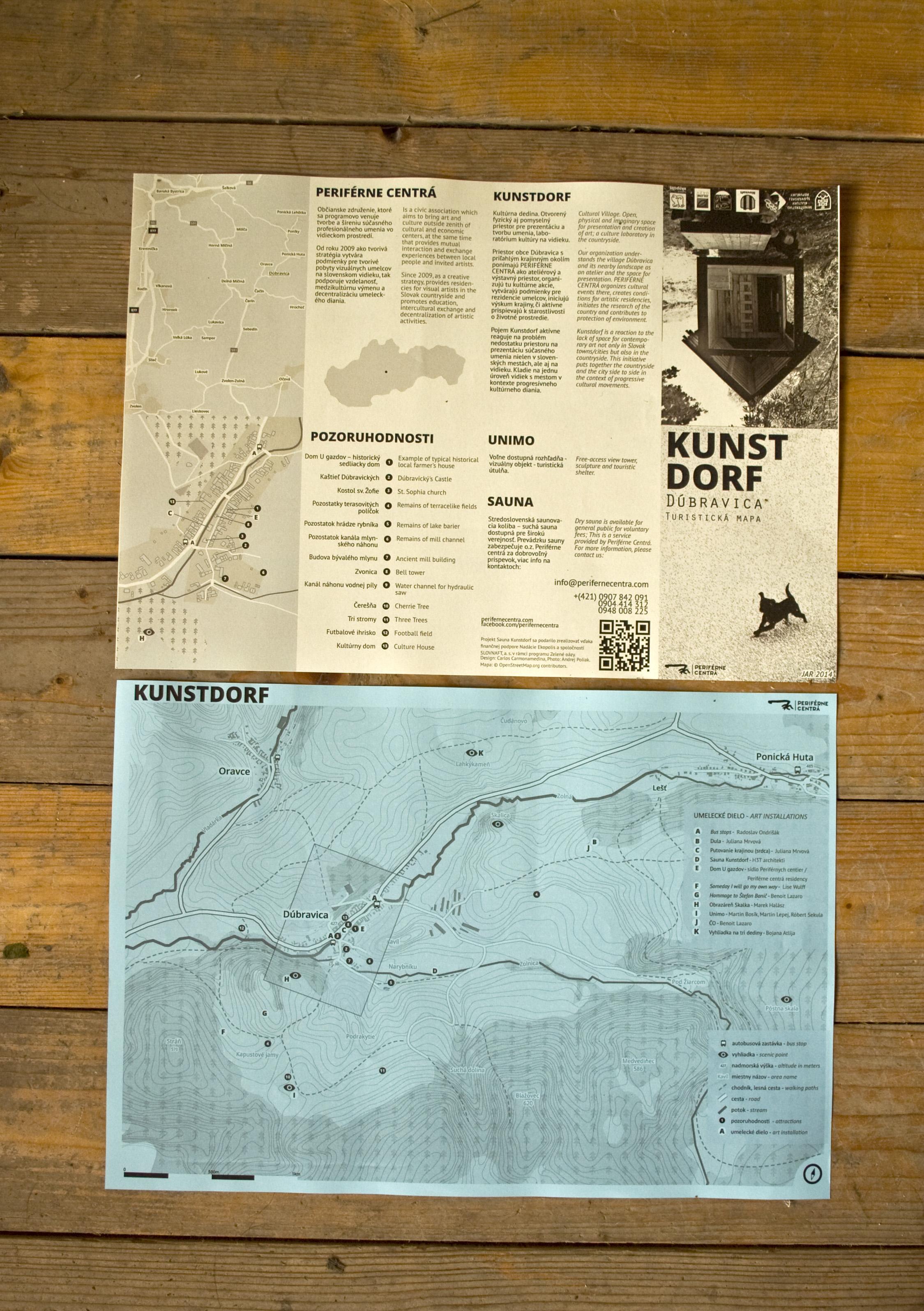 Kunstdorf Map 2014