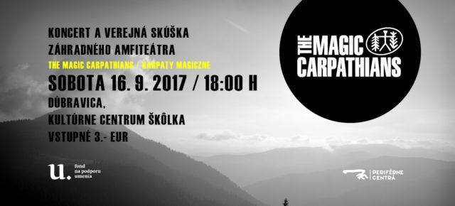 Verejná skúška záhradného amfiteátra / Koncert: Karpaty Magiczne (PL)